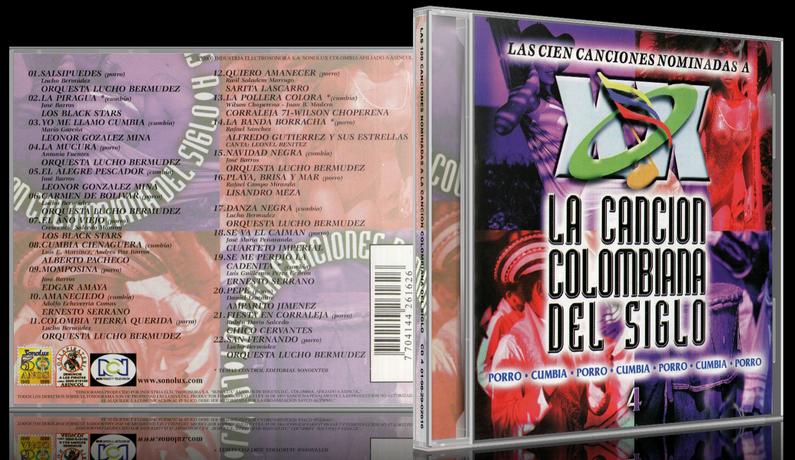 Varios Artistas - Las 100 Canciones Nominadas A La Canción Colombiana Del Siglo CD 4 (2000) [MP3 @320 Kbps]