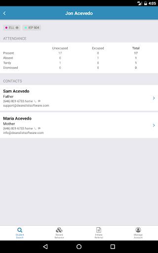 DeansList screenshot 7