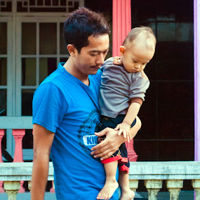 father by Uve Vtr - People Street & Candids