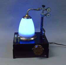 Photo: aether collector lamp