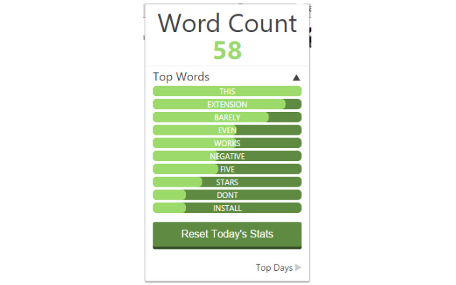 What's My Word Count