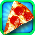 Pizza Maker Fast Food Pie Shop Icon