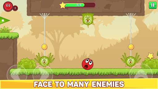 Bounce Ball 5 - Jump Ball Hero Adventure apktram screenshots 2