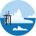 The Arctic Wallpaper Custom North Pole NewTab Icon