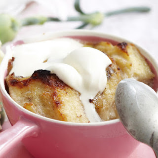 Pear and Fruit Bread Pudding