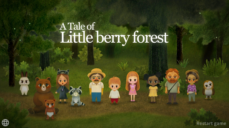 A Tale of Little Berry Forest: Fairy tale game Screenshot 0