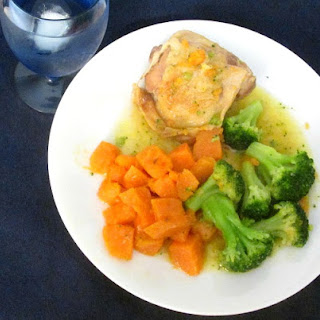 One Pot Chicken and Sweet Potatoes Recipe