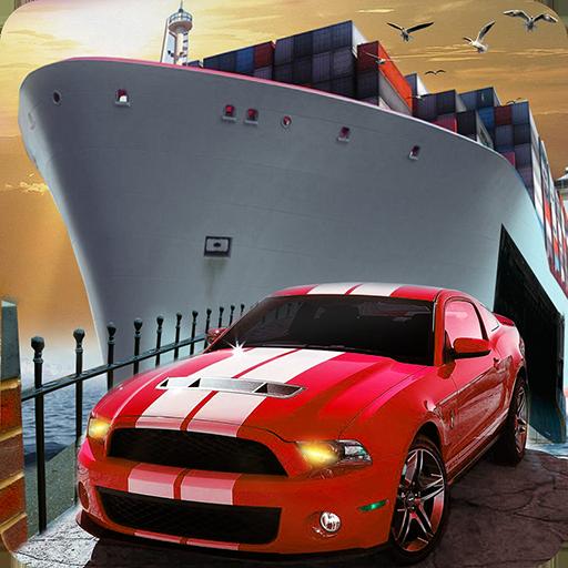 Cruise Ship Car Transporter 3D