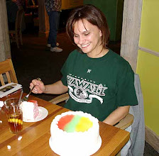 Photo: Ronnie and a whole cake – compliments of King's Bakery King's Bakery & Restaurant - Torrance, CA 10/16/2007