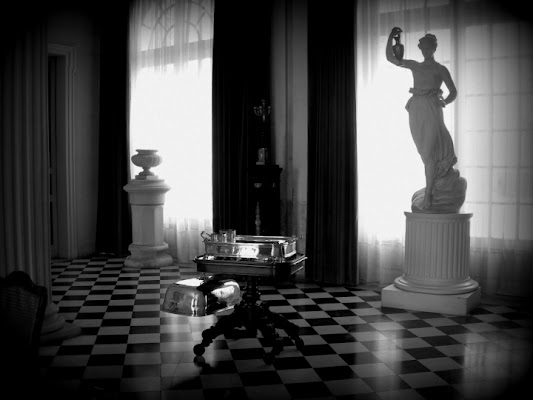 Pavimento a scacchi di cordina