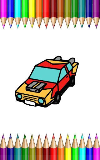 Super Cars Coloring Games