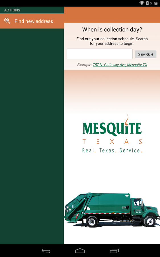 Mesquite Trash & Recycling- screenshot