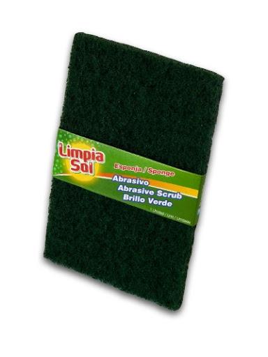 Esponja Limpia Sol Abrasiva X1 Unid