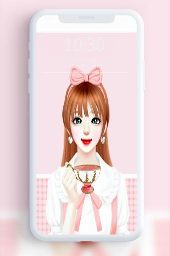 Cute Laura Wallpaper 1.1 screenshots 1
