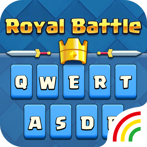 Royal Battle Keyboard Theme