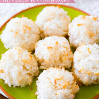Healthy Coconut Macaroons Recipes