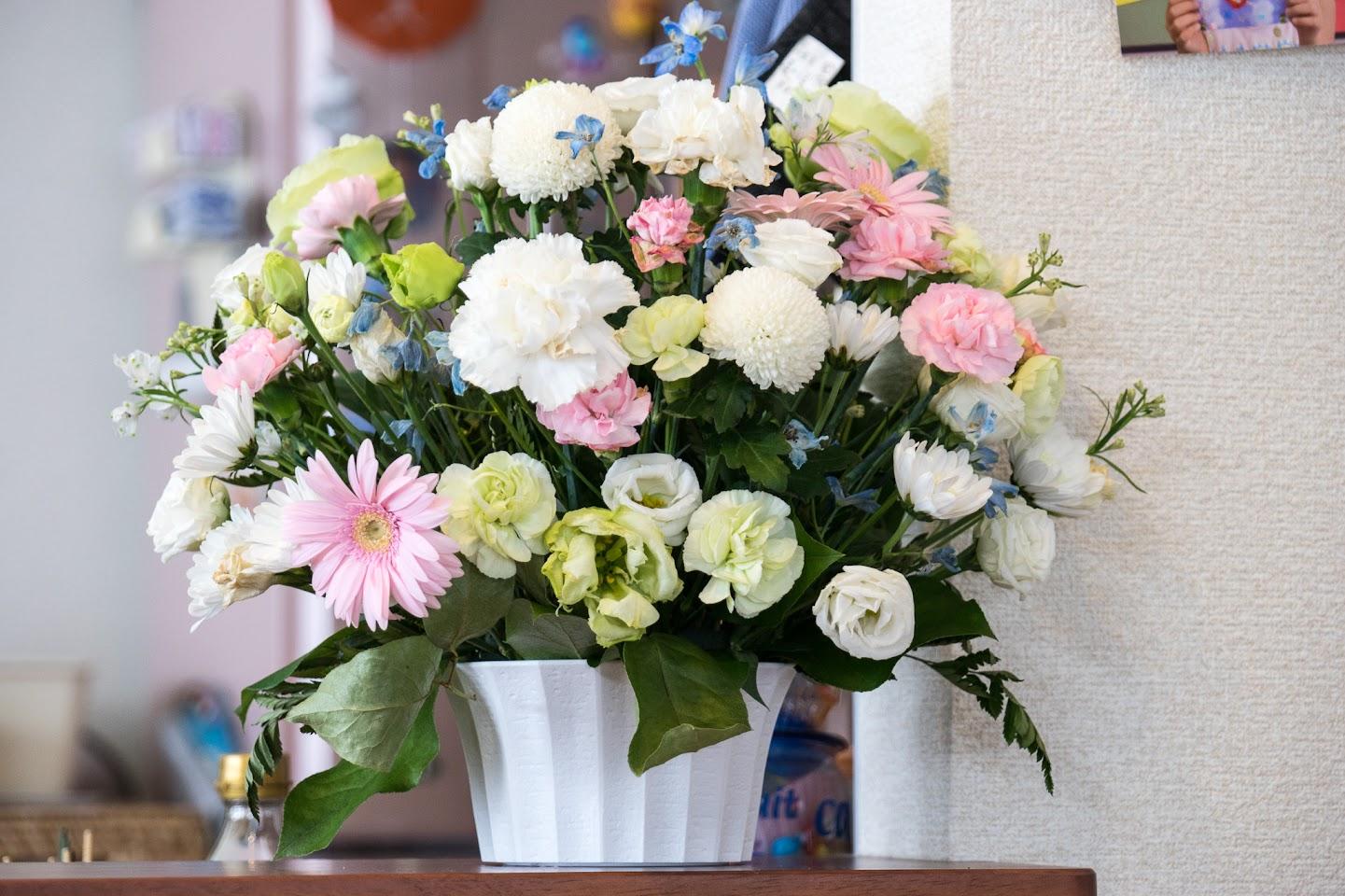 黒千石レシピ:黒千石肉まん・きれいな花