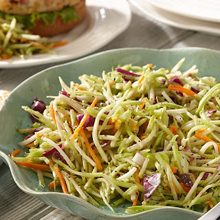 Lemon Pepper Broccoli Slaw