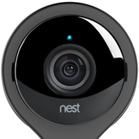 blue solid light on nest camera