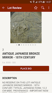 Capitoline Auction Gallery- screenshot thumbnail