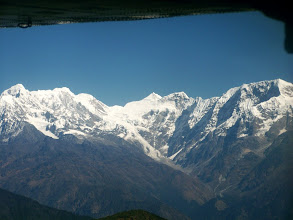 Photo: Vol Katmandu - Lukla : montagnes du Rolwaling