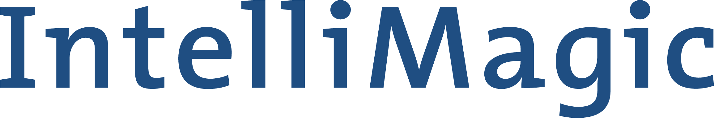 IntelliMagic logo horizontal