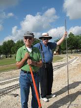 Photo: Bob Jackson and Claude Brown.  HALS 2009-0620