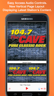 104.7 The Cave KKLH- screenshot thumbnail