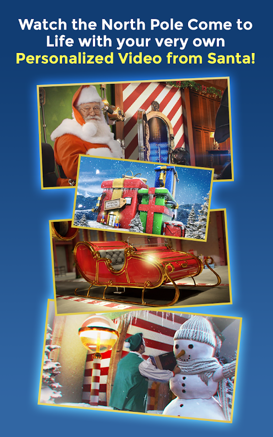 personalized video from santa android apps on google play
