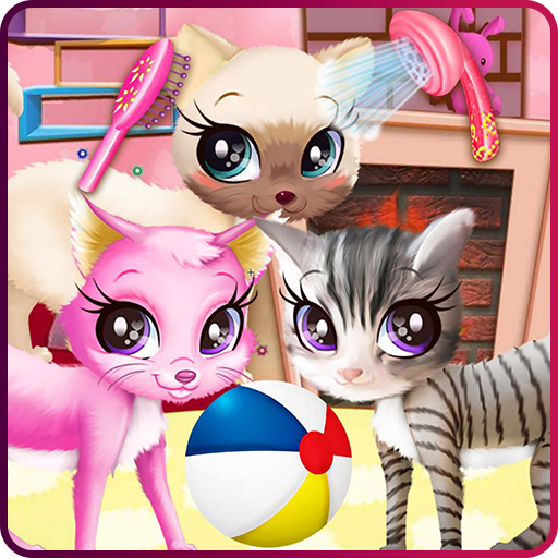 Kitty pet care salon Icon