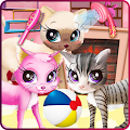 Kitty pet care salon APK
