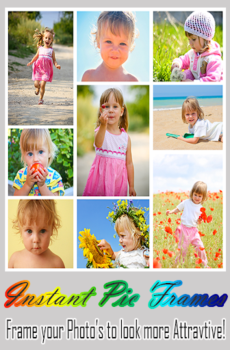Instant Pic frames New Free