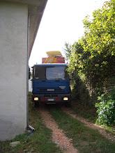 Photo: Augustus 2008, begin van grote werkzaamheden