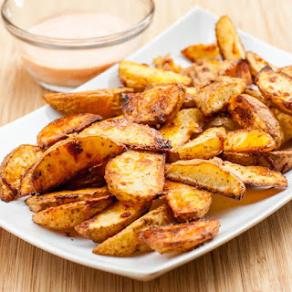 Oven Roasted Potato Wedges Recipe