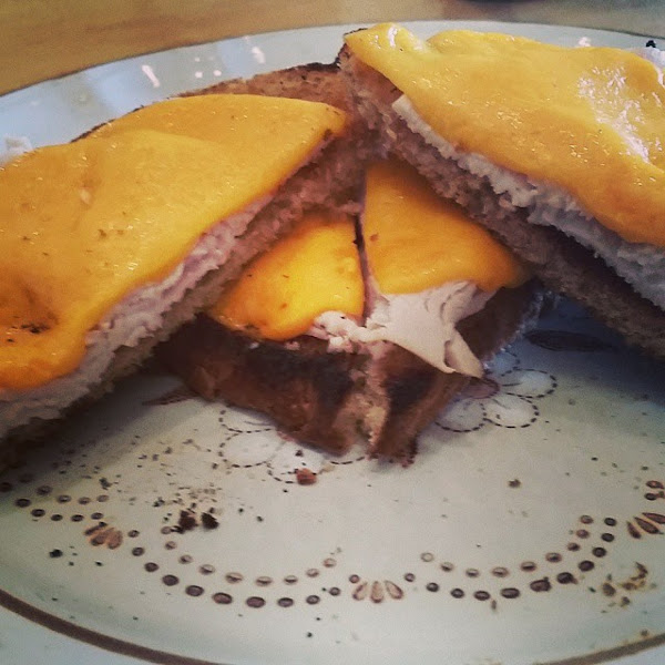 Jemilah's Roasted Turkey Grilled Cheese Recipe