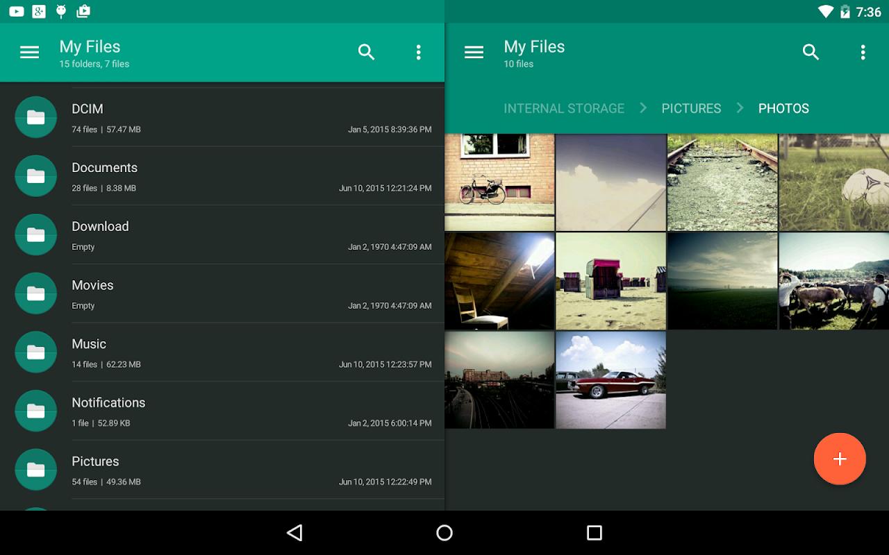 Solid Explorer File Manager screenshots