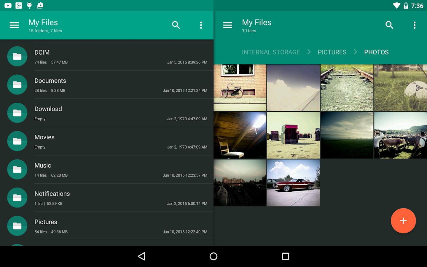 Solid Explorer File Manager – Screenshot