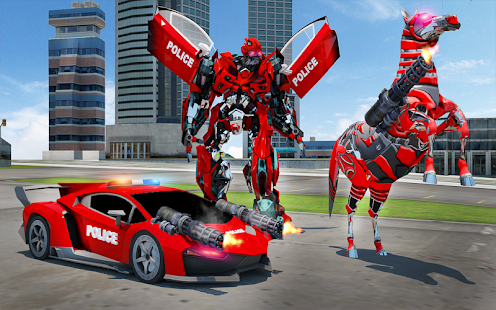 Download free US Police Multi Robot Transform: Wild Horse Games for PC on Windows and Mac apk screenshot 11
