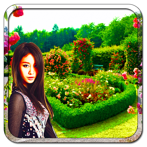 Garden photo frames