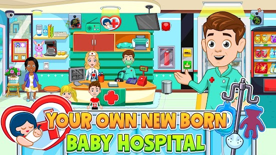 My City : Newborn baby Screenshot