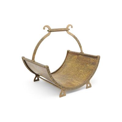 Дровница Stilars Арабеска старая бронза 132066