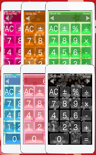 Calculator Flowers 1.2.9 screenshots 2