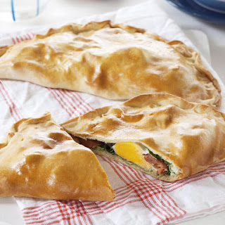 Egg and Chorizo Calzone
