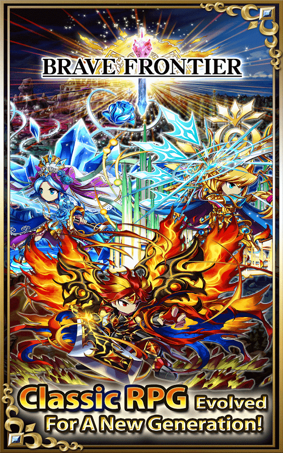Screenshots of Brave Frontier for iPhone