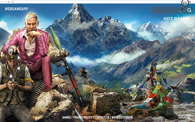 Far Cry 4 HD Wallpapers New Tab
