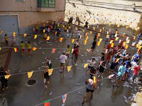 Photo: Gaseosada en la plaza