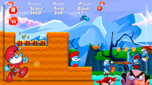 Papa Adventure Smurf Leps World 1.0 screenshots 2