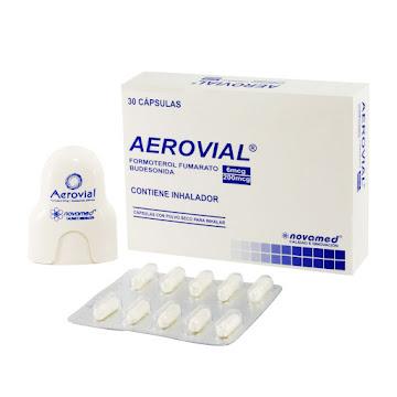 Aerovial 6/200mcg Cáp. Con Inhalador   Inha. Caja x30Cap. Novamed Formoterol Budesonida