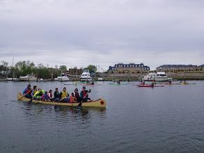 Photo: Big canoe and kayaks too!