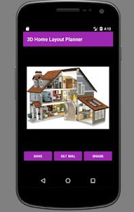 3D plán domů dispozice - náhled